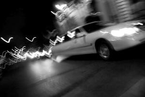 City Limo At Night